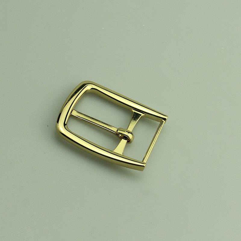 Shinny gold fashion pin buckle, metal accessories for belt